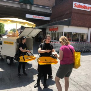 Crosta & Mollica - Suburban Street Sampling at Sainsbury's supermarket