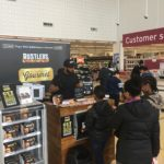 Rustlers product sampling campaign in Sainsbury's supermarkets