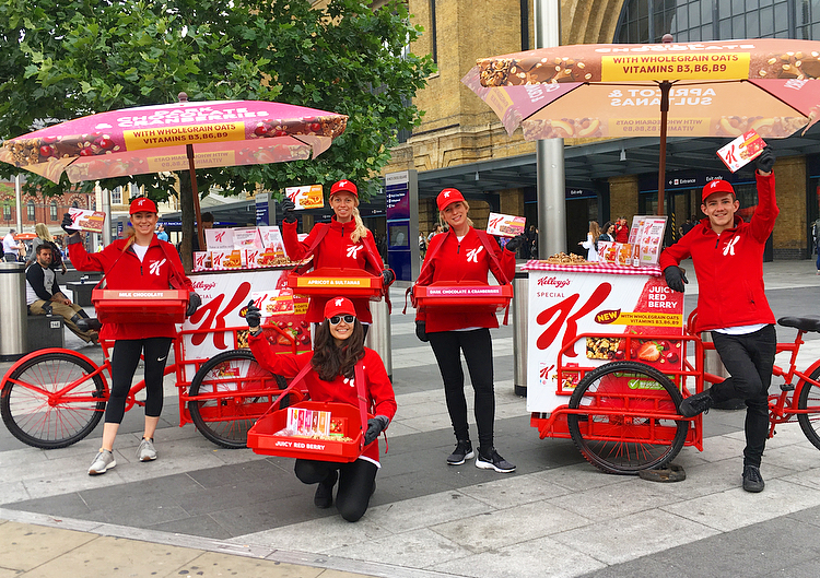 Convenience Retailer Sampling with Special K, active campaign, affiliate marketing, shopper marketing, promotion