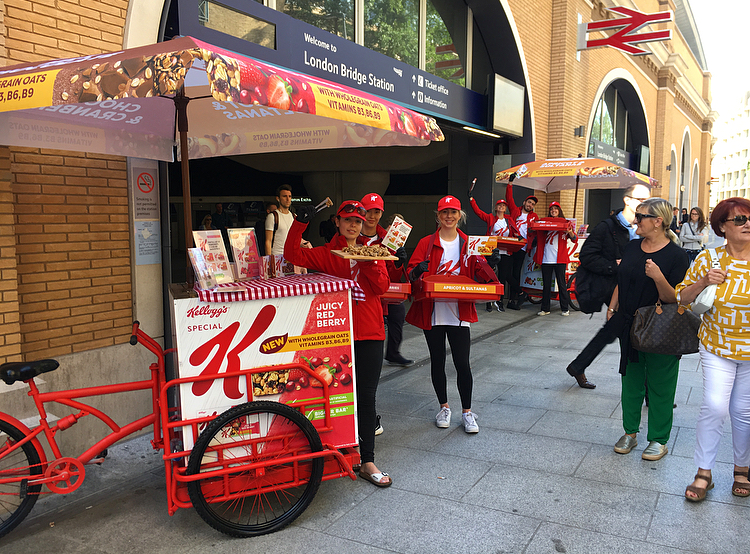 Special K - Sampling at London Bridge Station