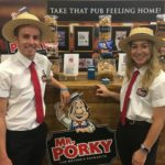Product sampling with Mr Porky