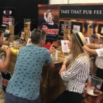 Product sampling at beer festival - Exhibitions and Event Activation - Mr Porky - 02