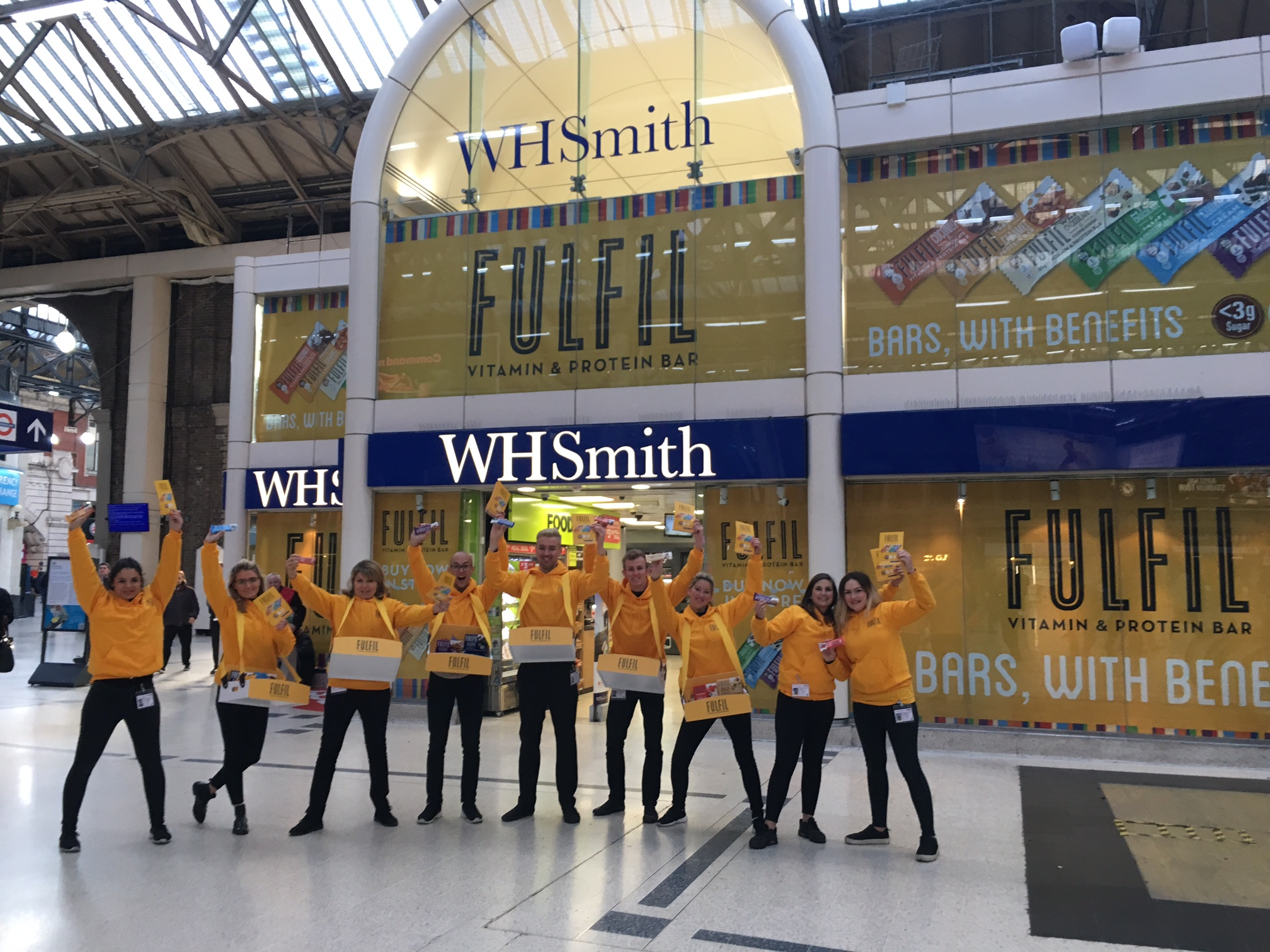 Experiential Marketing Product Sampling Fulfil - London