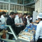 Product sampling at Retail Head Office