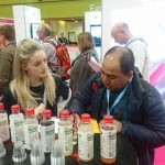 Product sampling at exhibitions