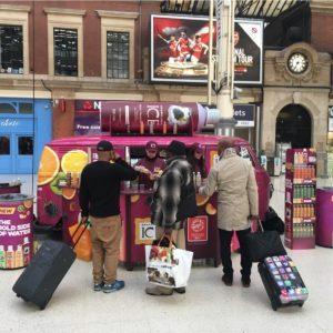 Sparkling Ice at Victoria Station 2nd May 2017 00- low res