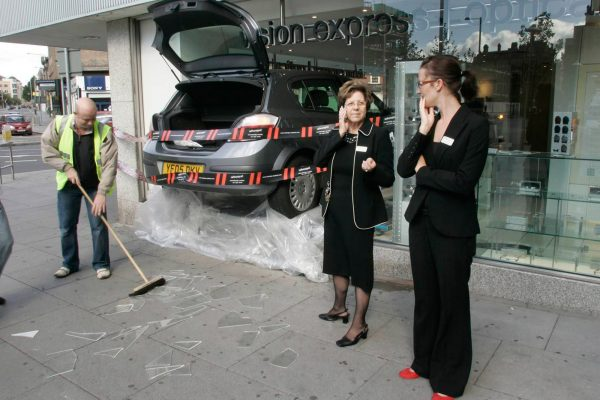 Experiential Marketing Product Sampling- vision-express-case-study---car-crash-into-stores-and-bill-boards-