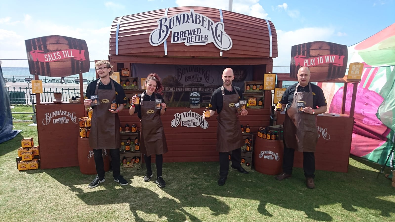 experiential Marketing product demonstration Bundaberg Foodies Festivals