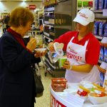 Product Sampling with Mornflake in Waitrose supermarkets