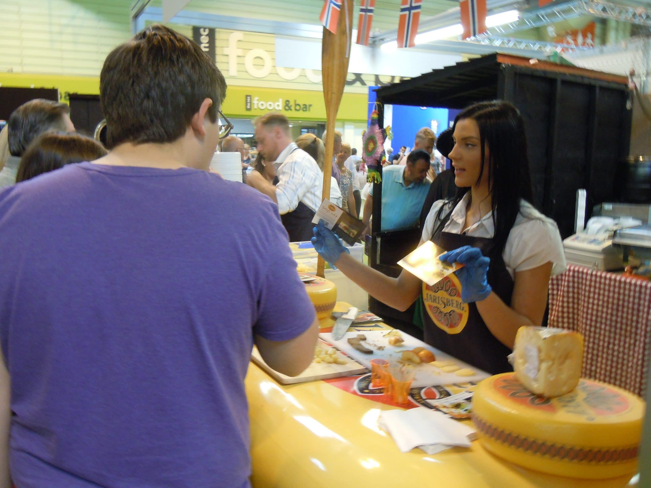 Experiential Marketing and Product Sampling at Trade Shows