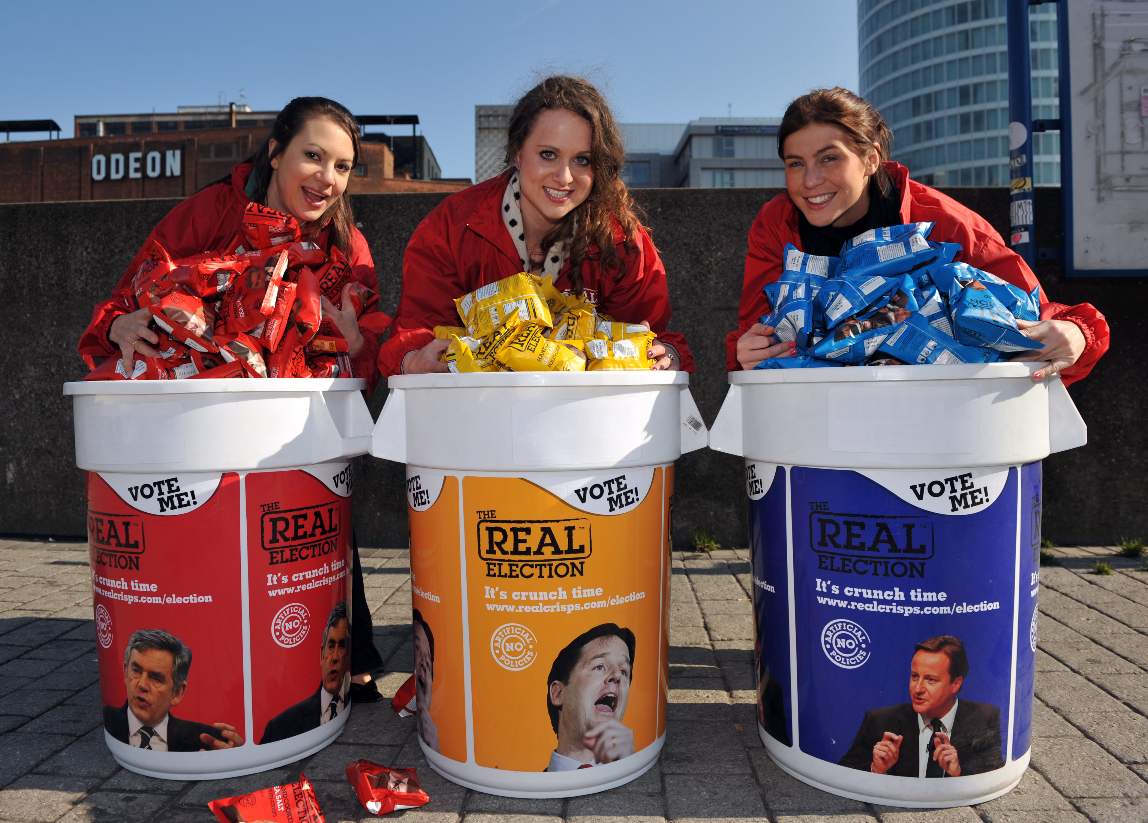 Real Crisps Experiential Marketing Product Sampling Case Study
