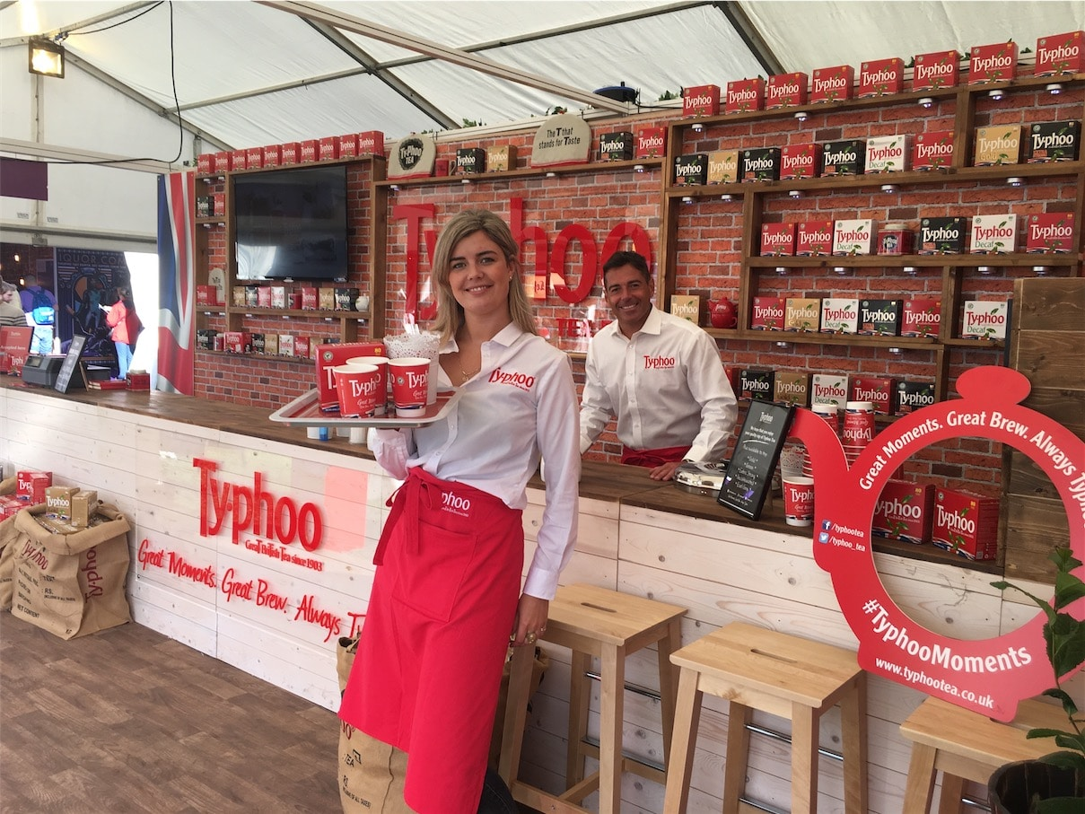 EXPERIENTIAL MARKETING AGENCY CAMPAIGN TYPHOO TEA