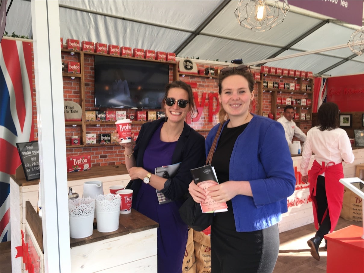 Experiential Marketing Product Sampling Typhoo at Trade Shows and Consumer Events