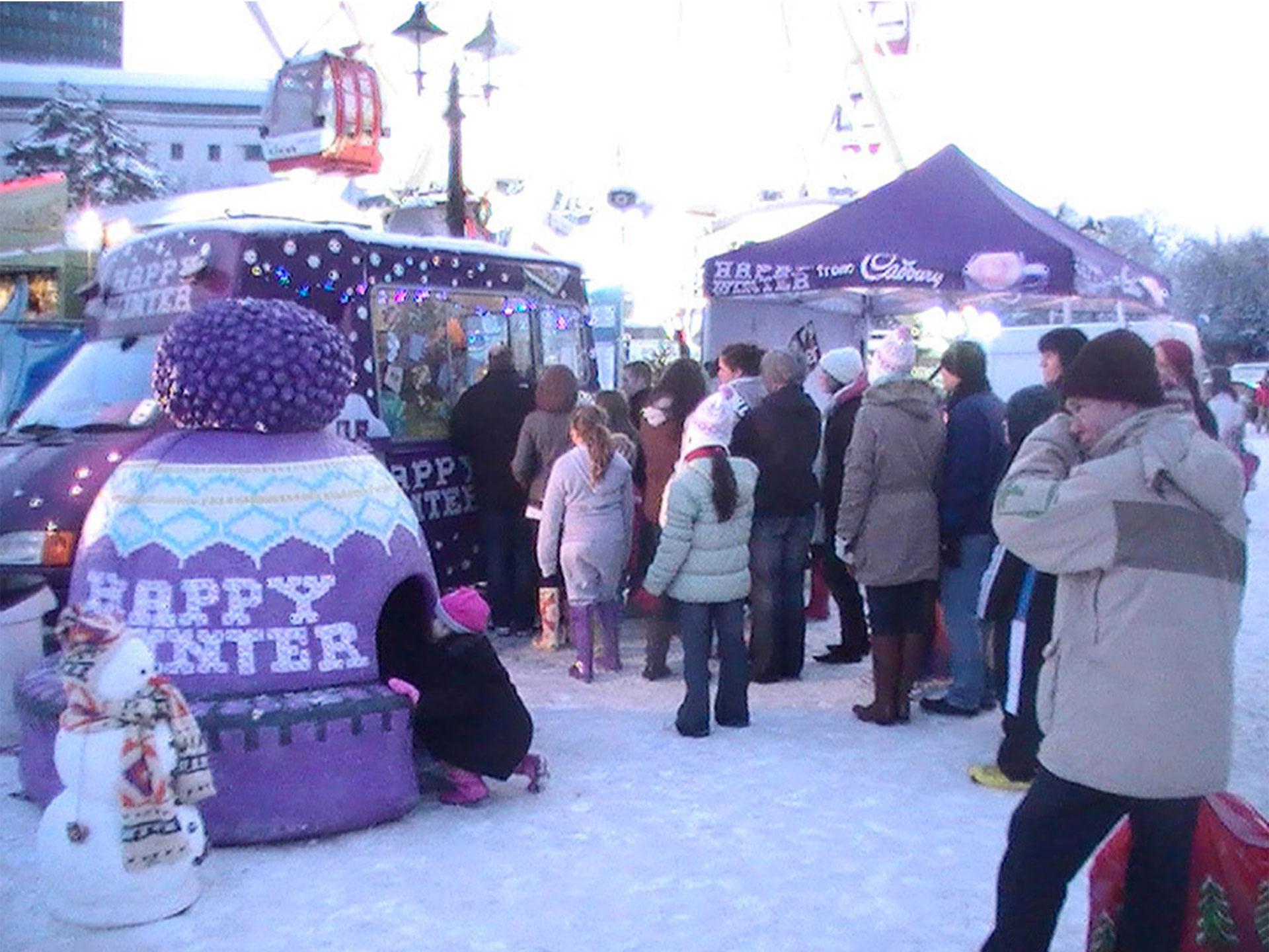 Experiential Marketing cadbury-case-study---sampling-ice-cream-van-creation-and-roadshow-tour