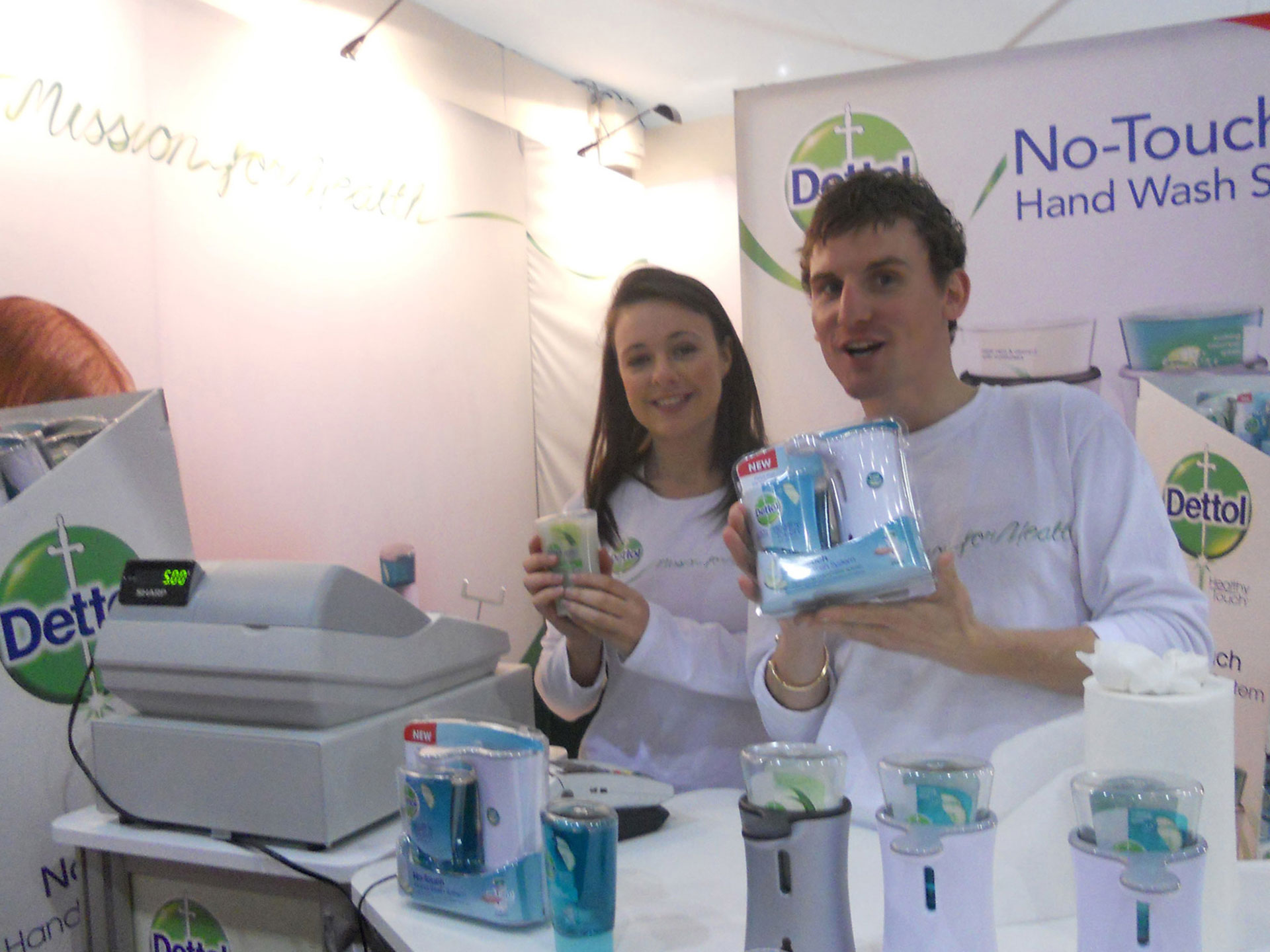 Experiential Marketing with Dettol at Good Home Show