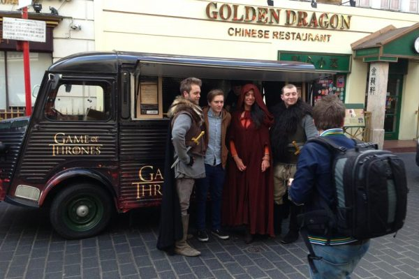 Experiential Marketing HBO Game of Thrones Case Study – PR Agency Event Production Support for Social Media and Press Campaign