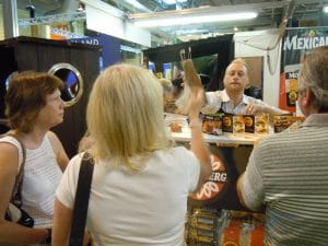 Norseland Cheese Brands - Experiential Marketing Product Sampling Roadshow Tour Consumer Trade Food Shows Events Exhibition Stand Design Build Sales Staffing