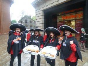 Mexicana Supermarket Product Sampling Experiential Marketing Asda Leeds