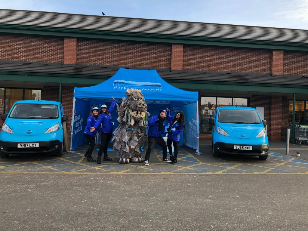Yorkshire Water Campaign Team & Equipment