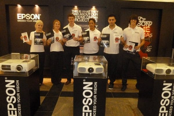Epson brand experience shopping mall roadshow