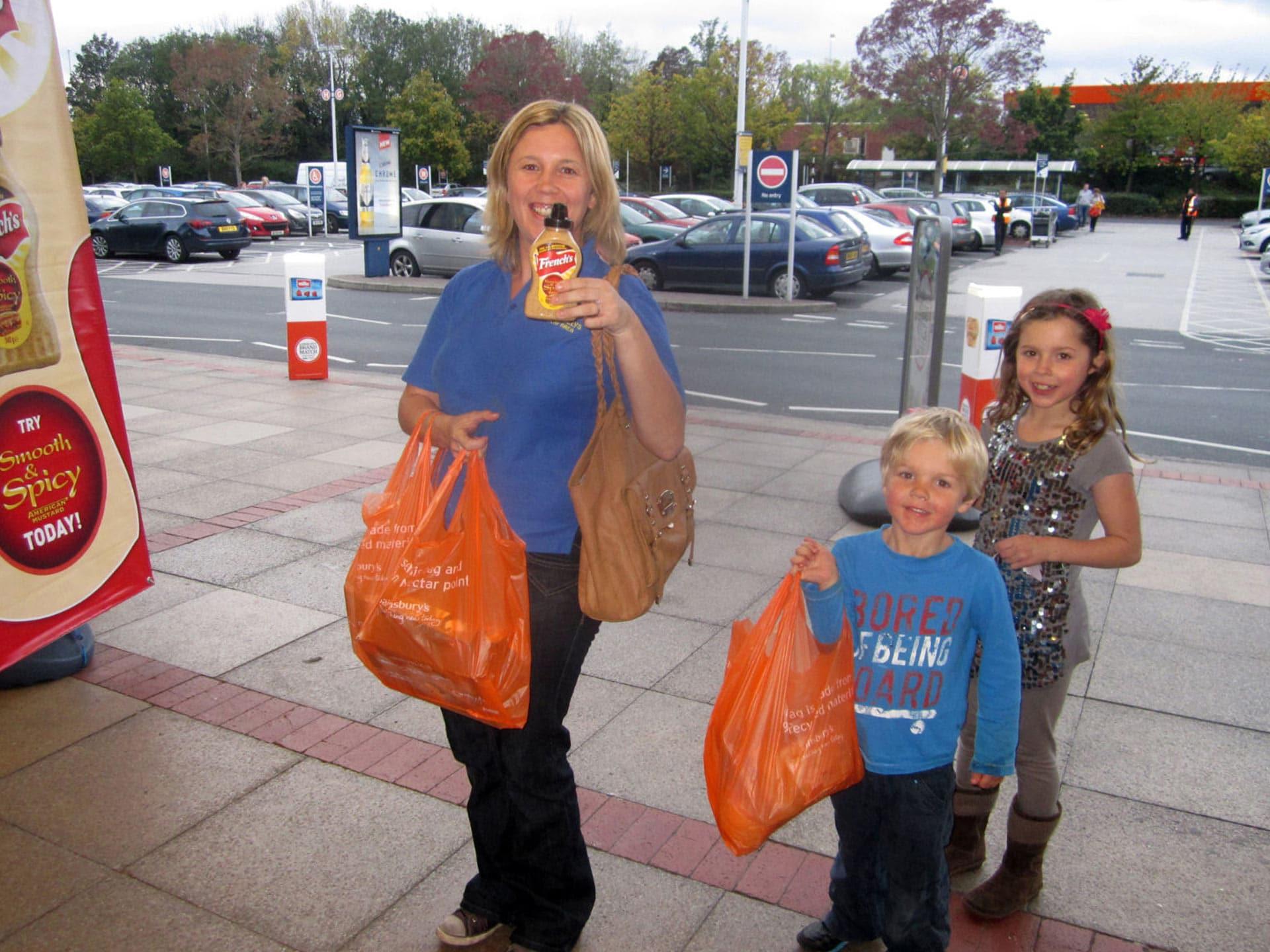 Sainsburys Supermarket Sampling