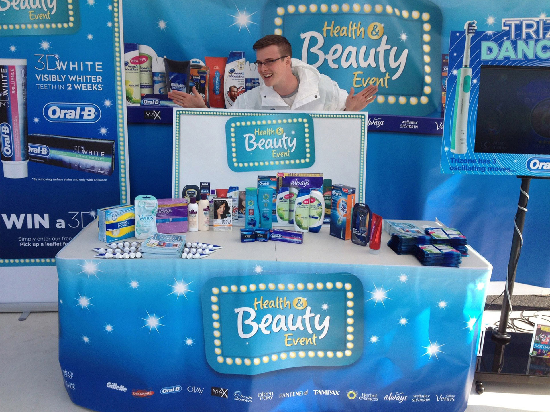 In Store Product Demonstrations for Oral B