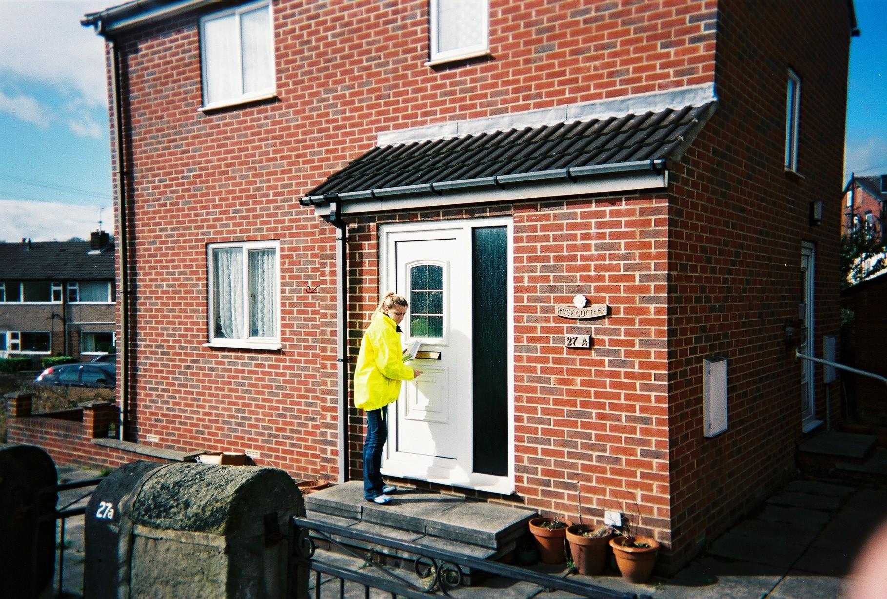 Door to door residential product sampling.