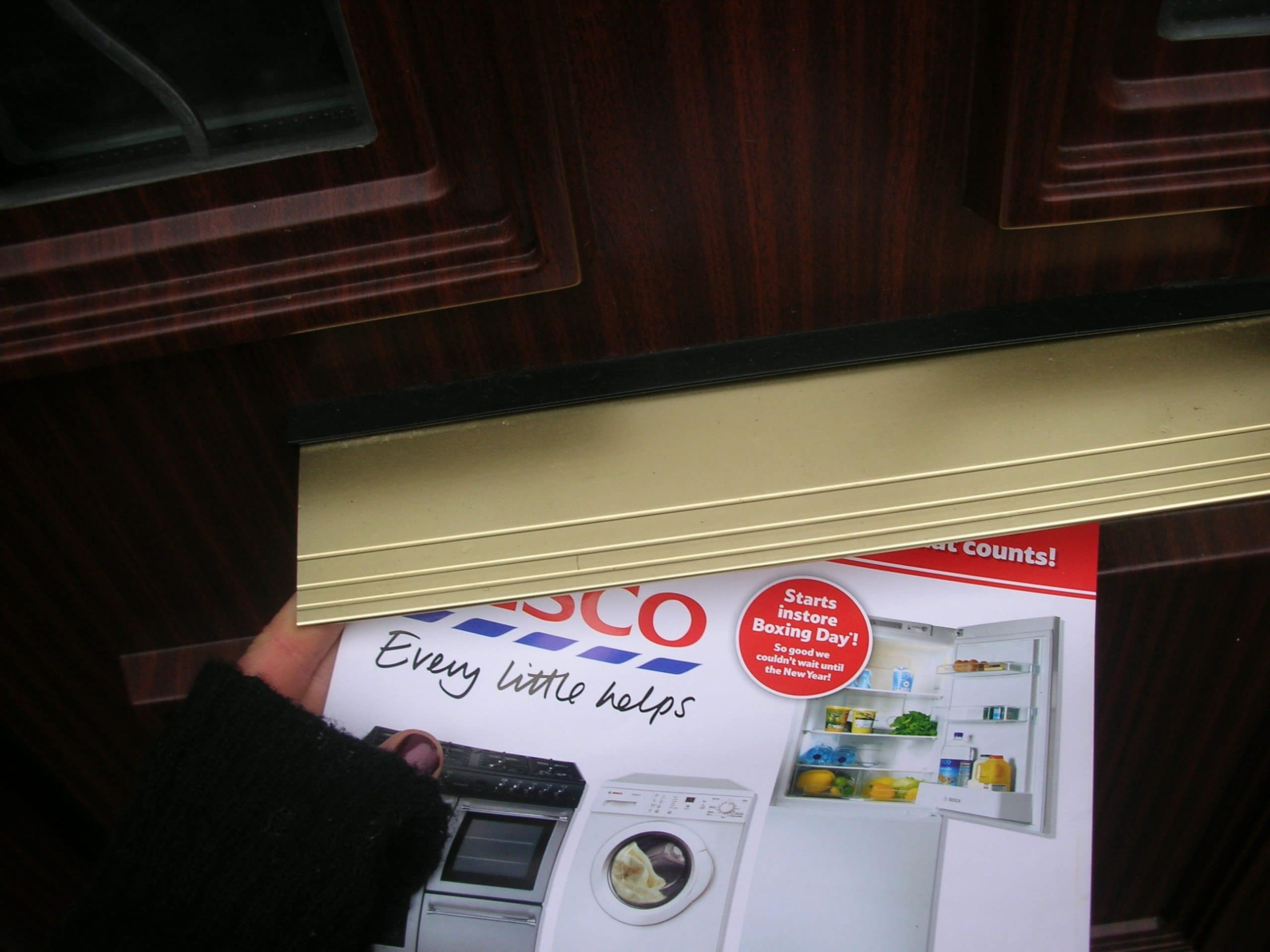Hand to Hand Leaflet Distribution with Tesco, marketing campaign, promotion