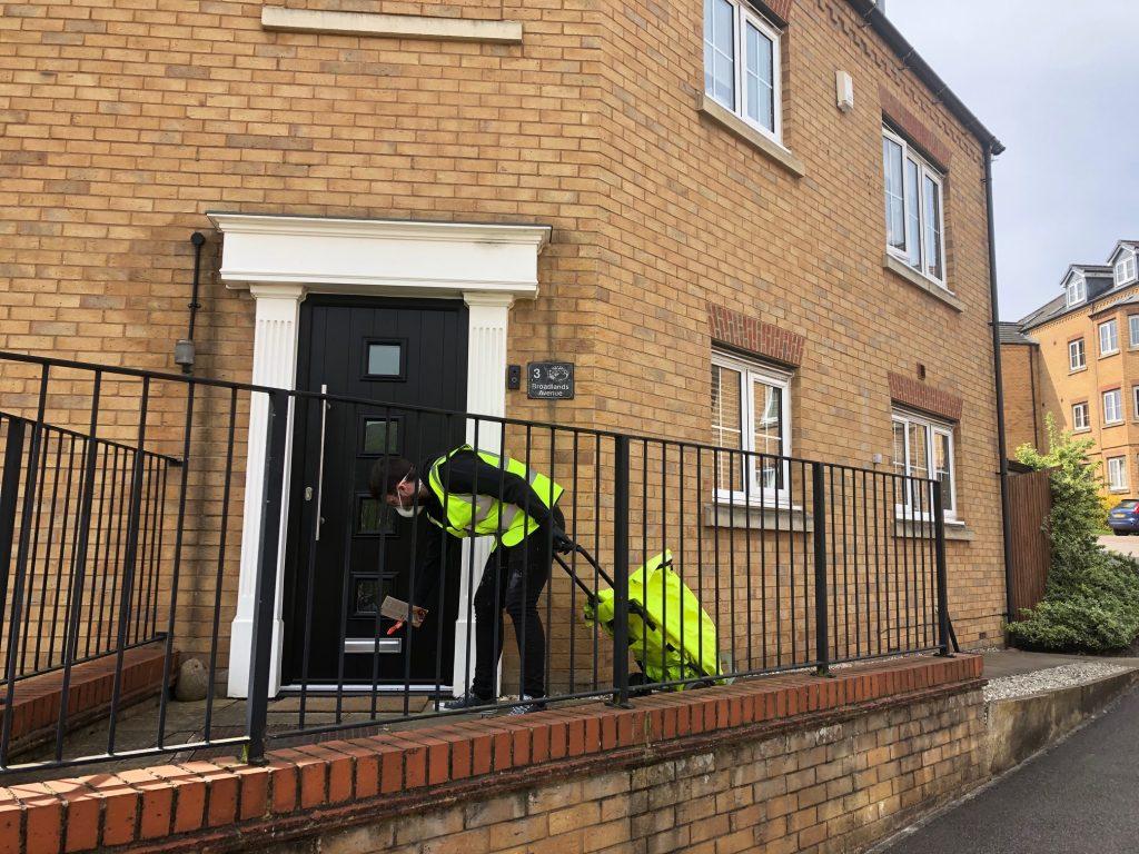Door to door residential sampling