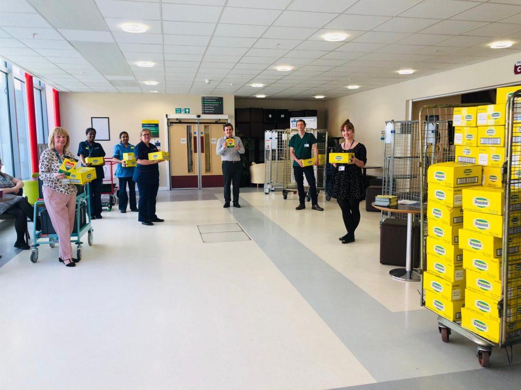 Branston Pickle - NHS Hospital & Key Worker Sample Distribution, active campaign, promotion