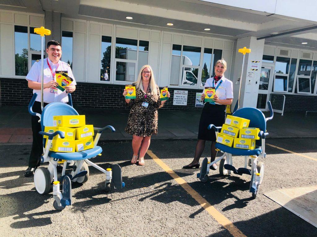 Branston Pickle - NHS Hospital & Key Worker Sample Distribution