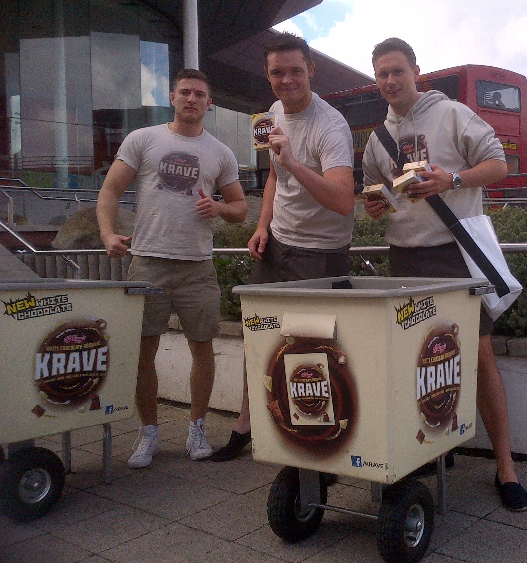Kellogg's Krave Sampling - Door to door in student housing areas