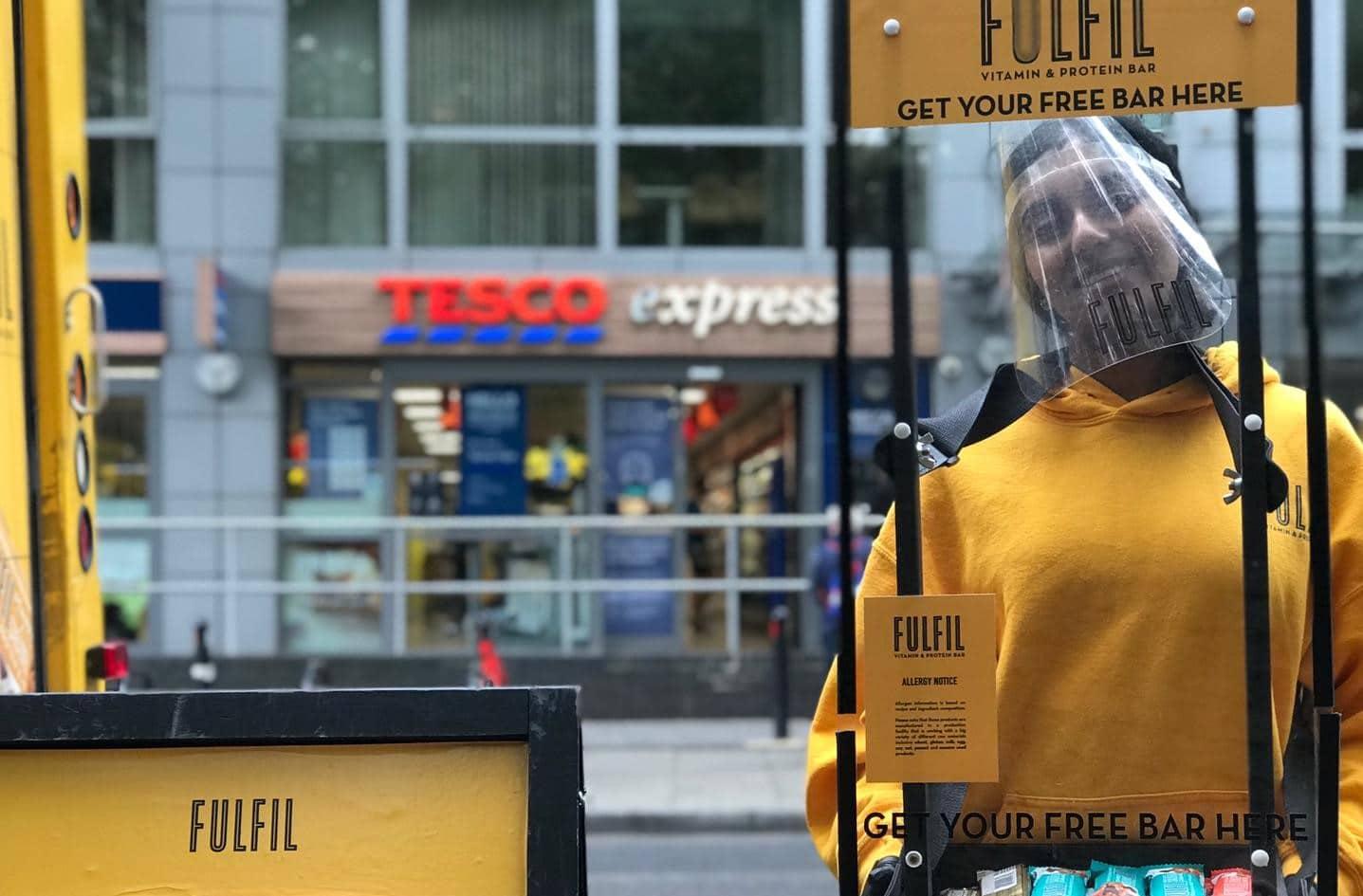 Fulfil - Safe Sampling Sainsburys Tesco, M&S, Co-op Suburban High Streets & Parks