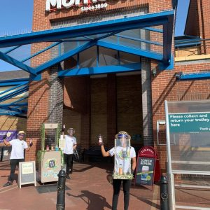 MayTea Iced Tea: Safe Sampling at Morrisons Supermarkets