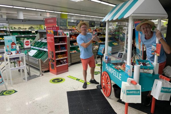 Link Communication - Pampelle Safe Sampling at Waitrose