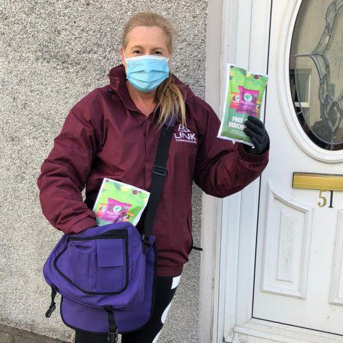 Door to door safe sampling product demonstration for Plantastic Case Study