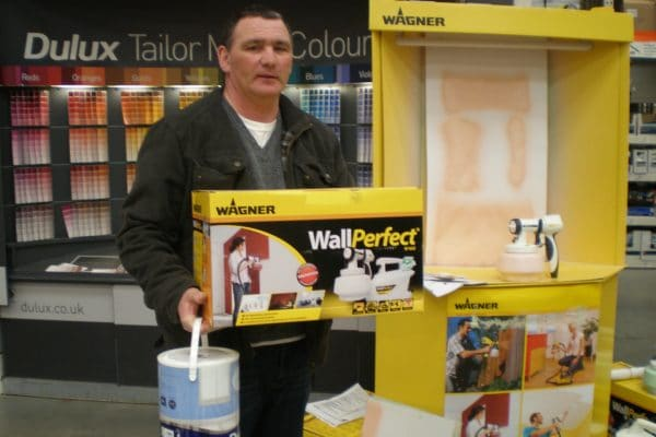 Wagner Case Study Covid Safe Demonstration Equipment Safe Sampling In Store Product demonstration for wall perfect