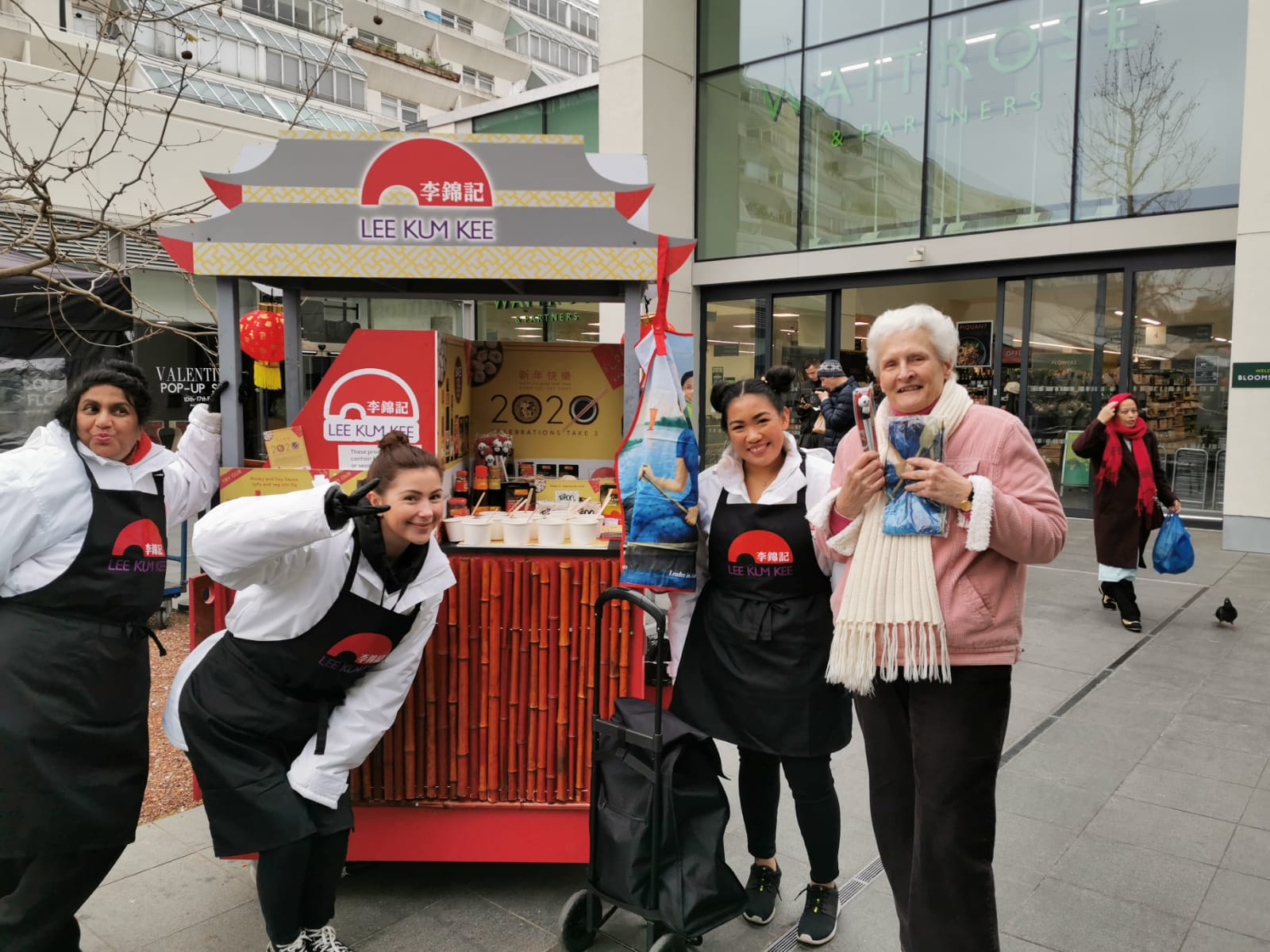 Experiential Marketing With Lee Kum Kee Cereal in Waitrose Supermarkets, shopper marketing, Waitrose shopper agency, retail marketing agency, examples