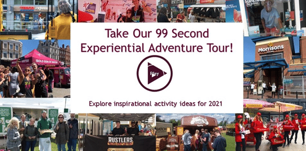 99-second experiential adventure