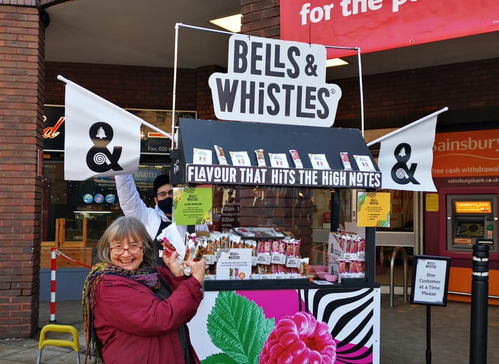 Bells & Whistles - Safe Street Sampling at Sainsburys