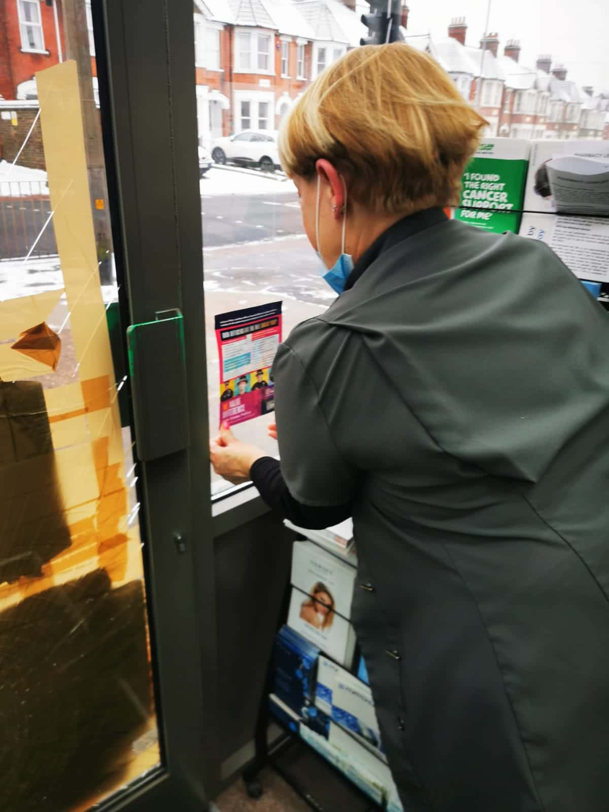 Leaflet and Poster Display Service