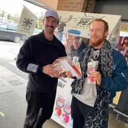 Mighty Pea - Safe Sampling at high street Sainsburys (11)