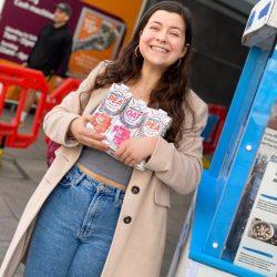 Mighty Pea - Safe Sampling at high street Sainsburys (17)