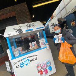 Mighty Pea - Safe Sampling at high street Sainsburys (4)