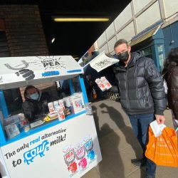 Mighty Pea - Safe Sampling at high street Sainsburys (6)