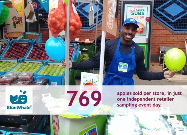 Supermarket Sampling - Real retail sales uplift results 10