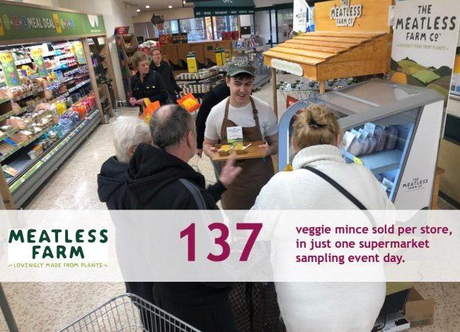 Supermarket Sampling - Real retail sales uplift results 7