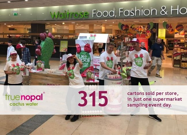 Supermarket Sampling - Retail Sales Results Slides (2)