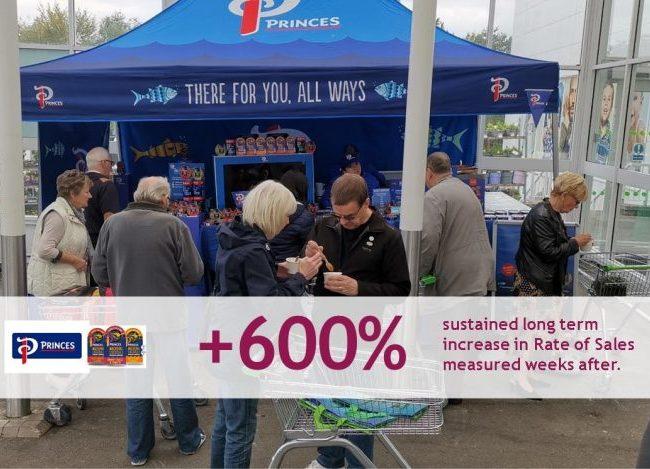 Princes - Tesco Asda Experiential Marketing Sampling Retail Sales