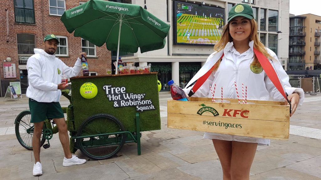 10 Wimbledon - Robinsons & KFC